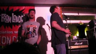 Sleaford Mods 'McFlurry' live @ Dot 2 Dot Festival Nottingham 25/05/14