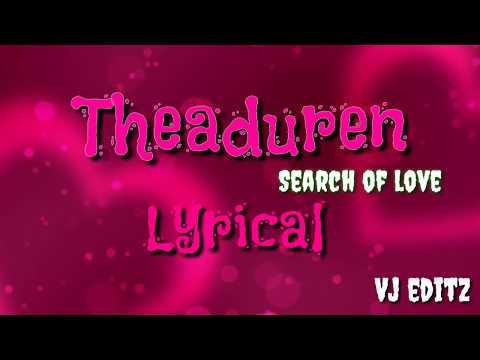 Theduren-album song- Lyrical video   Vj editzz with Pk and SB
