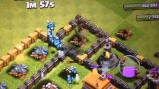 Clash of Clans La potenza di 70 sgherry