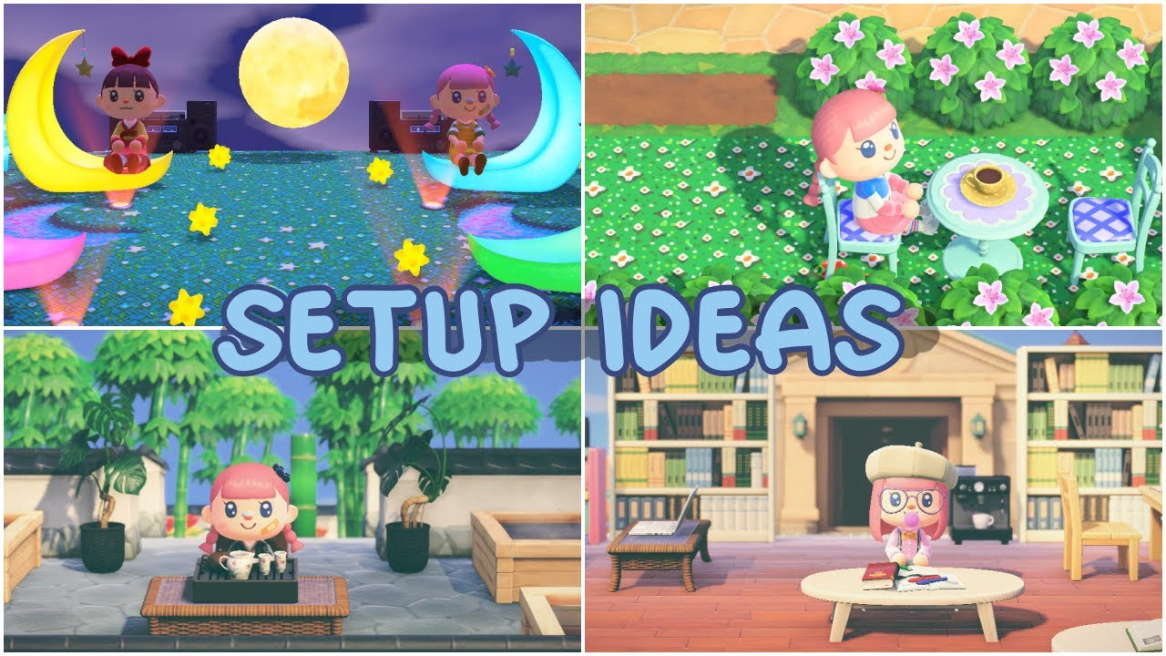 6 Unique Island Setups Animal Crossing New Horizons Youtube
