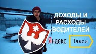 Доходы водителей Яндекс Такси в Ижевске, январь 2018