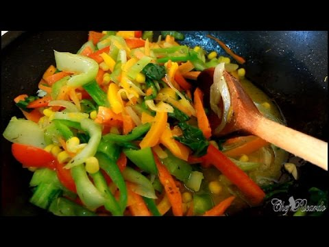 Stir Fry Pak Choi Recipe [ Healthy Meat At Home ] | Recipes By Chef Ricardo