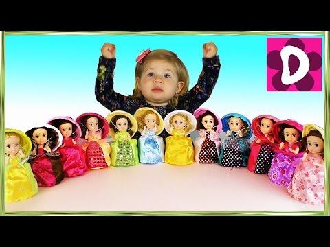 ✿ Ароматные КАПКЕЙКИ Куклы Сюрприз Распаковка Игрушек Cupcake Surprise doll unboxing