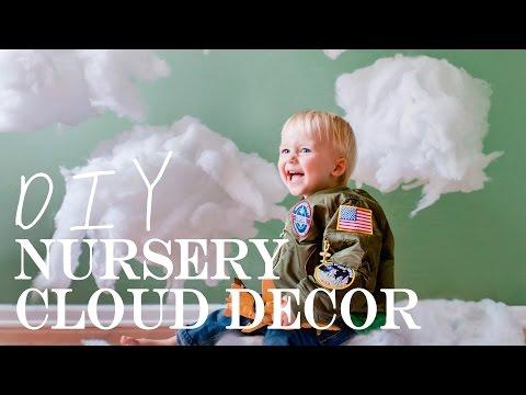 DIY {Cloud Decor for a Nursery}