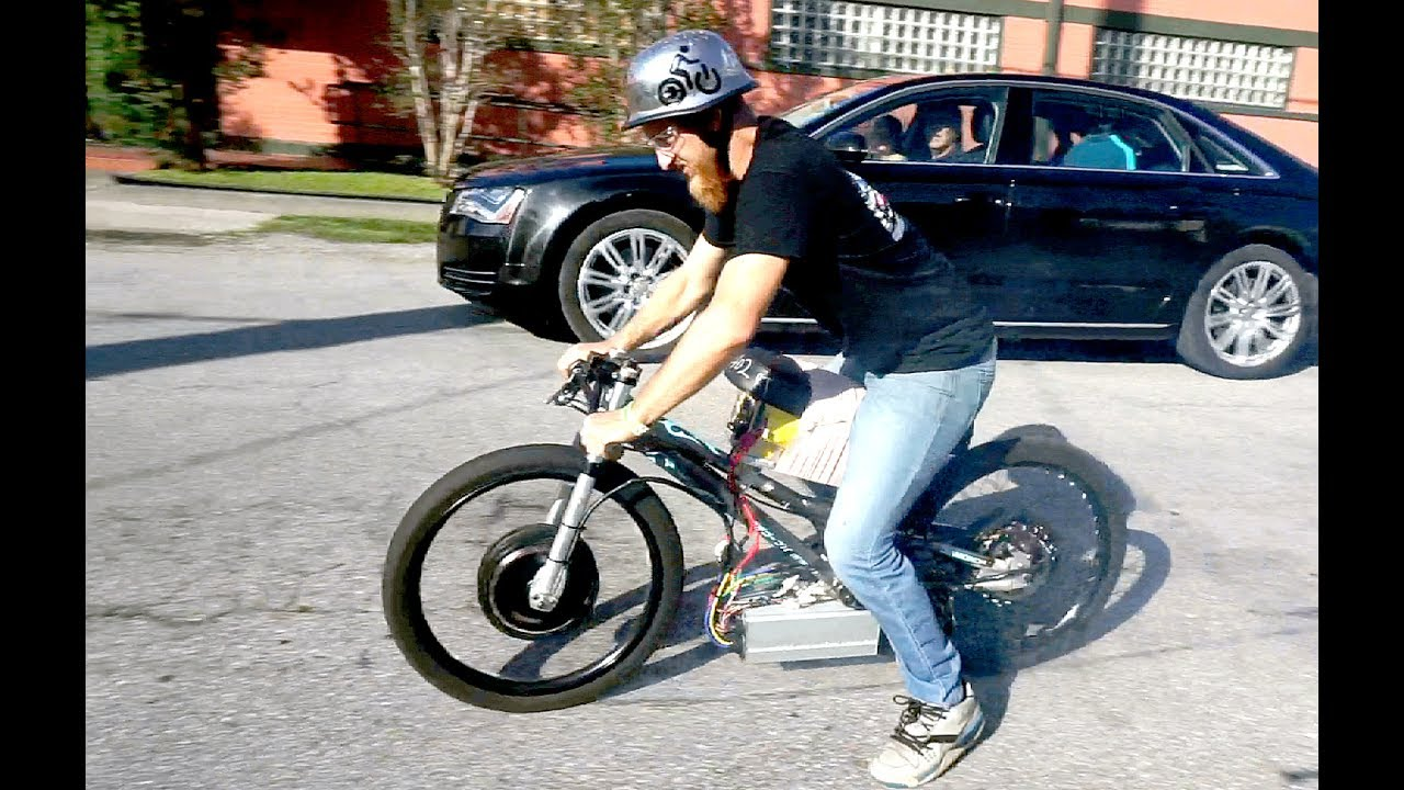 Is This The Worlds Fastest Electric Bike