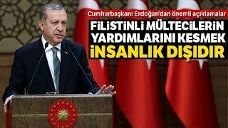 Cumhurbaşkanı Recep Tayyip Erdoğan: ''Yeni Bir Göç Dalgasını Tek Başına Göğüsleyemeyeceğiz''