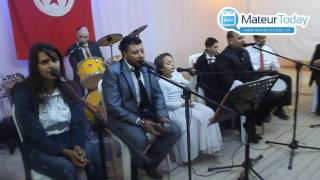 وصلة موسيقية بأداء أوركسترا الأمير في إطار يوم إحتفالي من تنظميم جمعية النهوض بالمعوقين