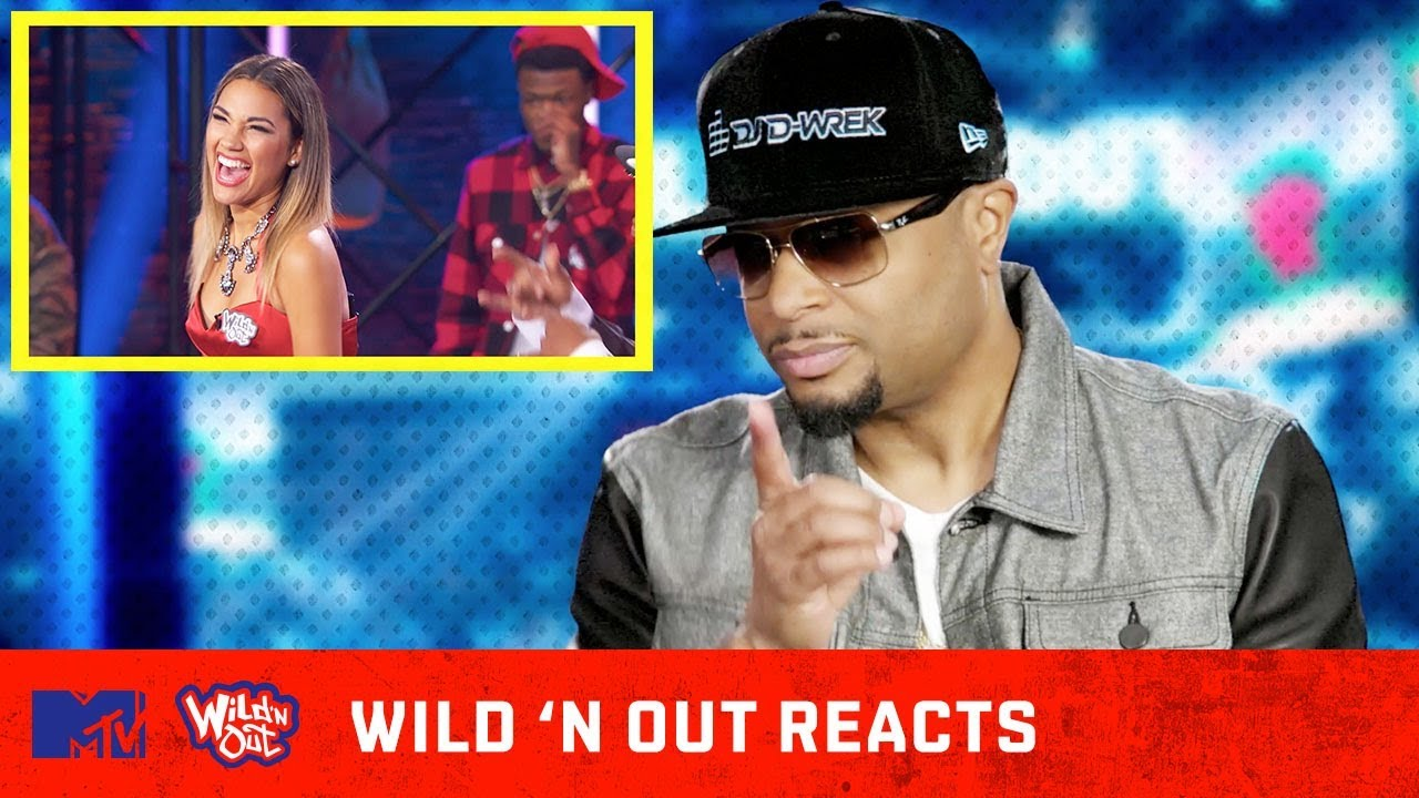 Dj D Wrek Goes In On Wild N Out Cast W The Buzzer Wild N Out Reacts Mtv Youtube