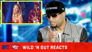 DJ D-Wrek Goes In On Wild 'N Out Cast w/ the Buzzer 🚨 Wild 'N Out Reacts | MTV