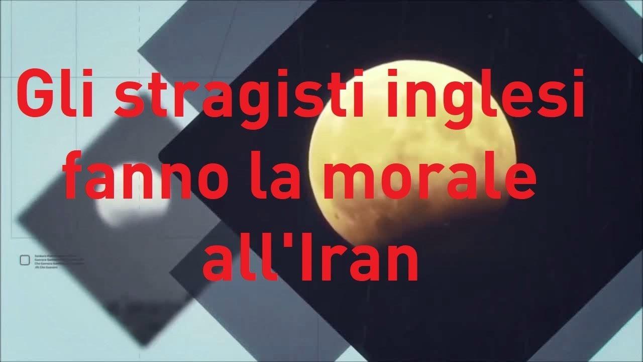 Fulvio Scaglione: Gli stragisti inglesi fanno la morale all' Iran