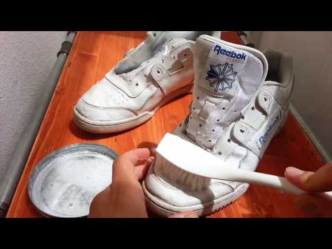 Reebok Shoes ASMR Cleaning Video
