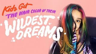 Baixar Kids Get the Hair Color of Their Wildest Dreams | HiHo Kids