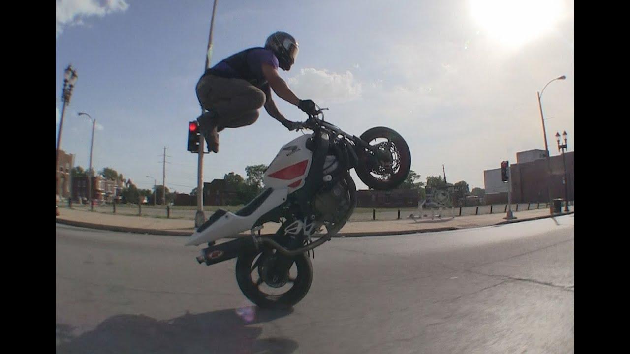 Motorcycle Stunts 2014 Saint Louis Mo Street Ride Session Blox