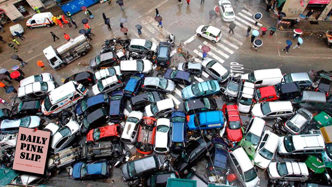10 BEST Traffic Crashes and Pile-Ups Of All Time