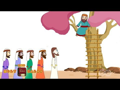 Zacchaeus and Jesus I Stories of Jesus I Animated Children's Bible Stories| Holy Tales Bible Stories