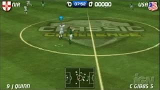 World Tour Soccer 06 Sony PSP Gameplay - GOOAAL!