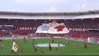 Chacarita Juniors. Homenaje a Javier Pinola por el  FC Nürnberg   24 05 2015