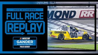 ToyotaCare 250 from Richmond Raceway | NASCAR Truck Series Full Race Replay