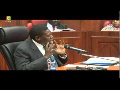 Eugene Wamalwa Undergoes Vetting for Water CS Post