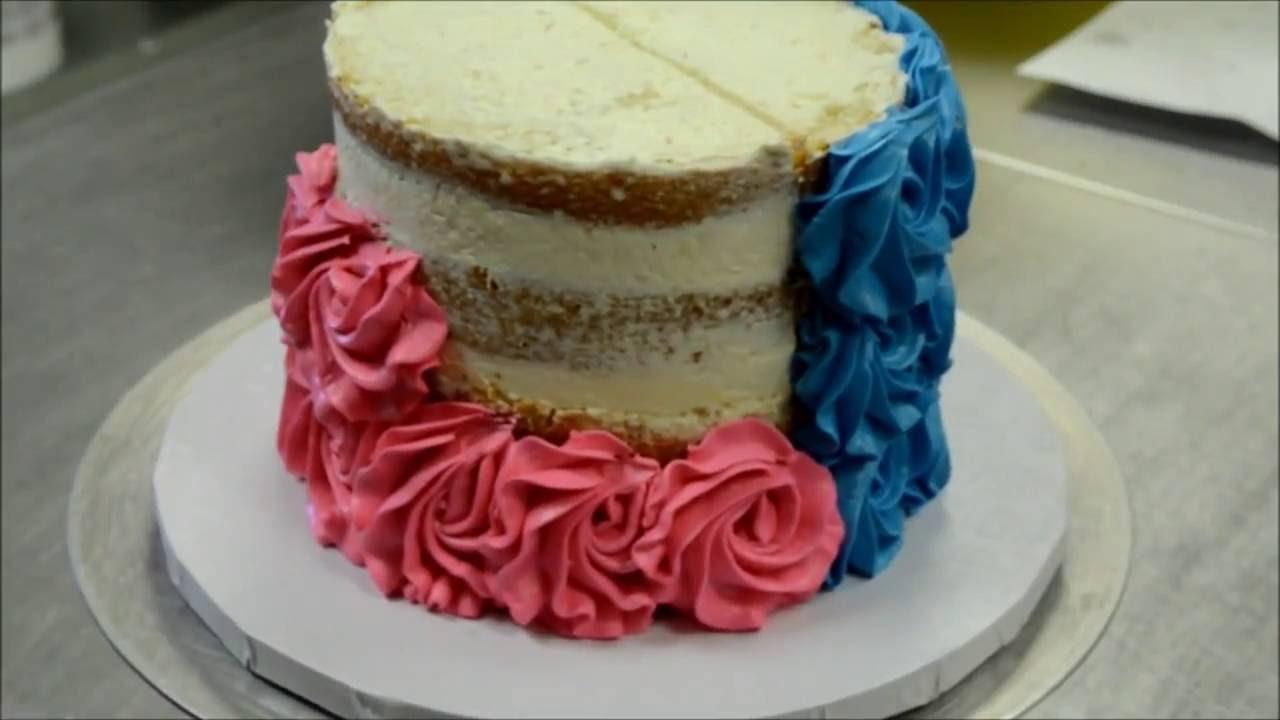 Видео розы для торта из крема