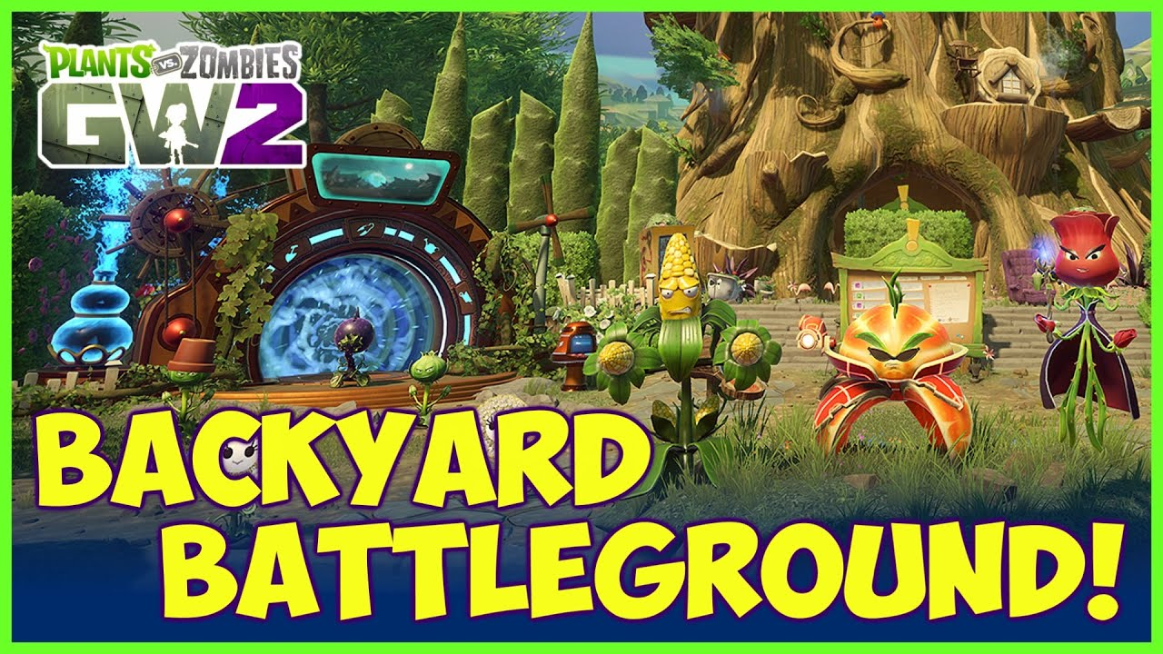 Plants vs Zombies Garden Warfare 2 Backyard Battleground