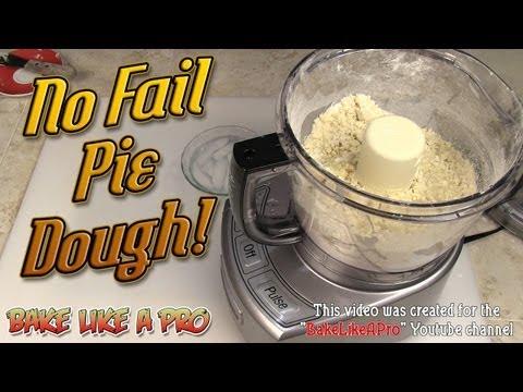 No Fail Pie Dough Recipe ! - Fast ! With Our Cuisinart Food Processor !