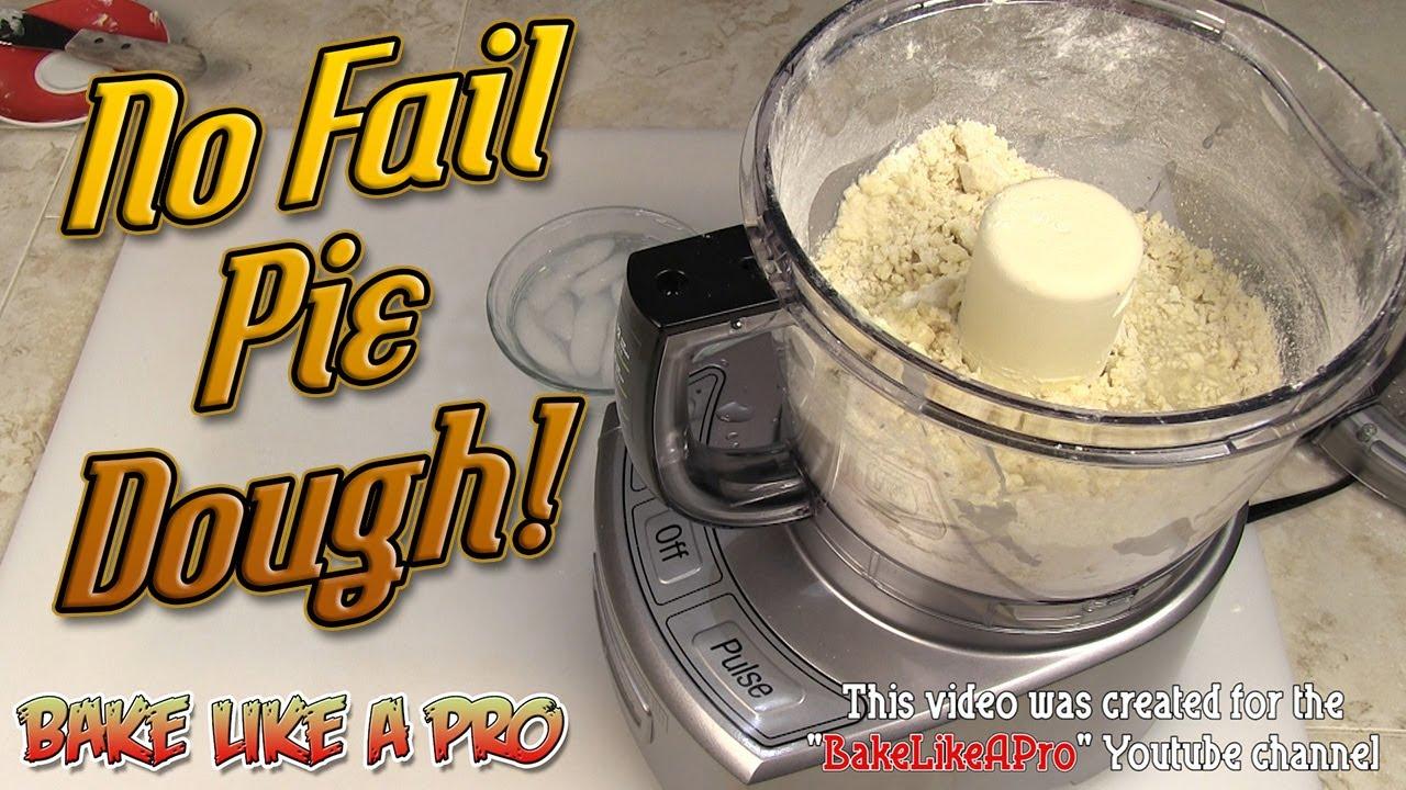 No Fail Pie Dough Recipe