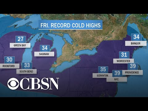 Central And Eastern U.S. Wake Up To Cold Temperatures