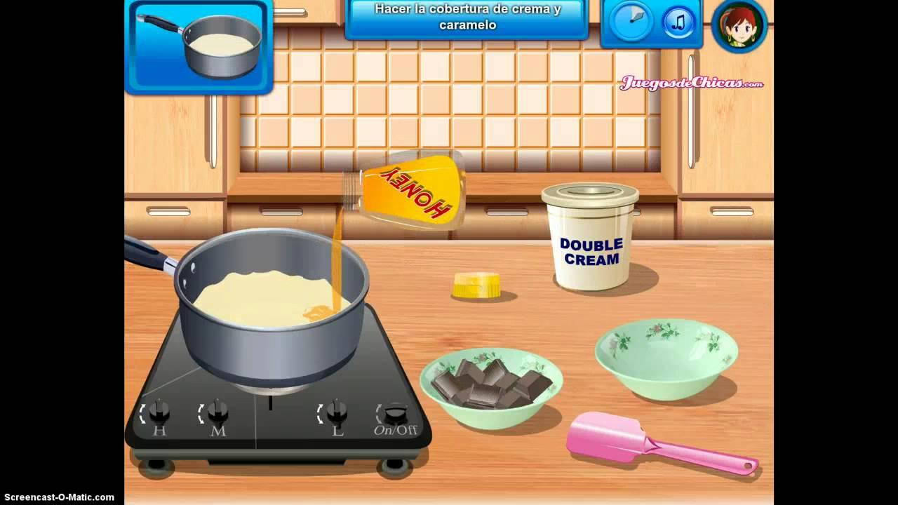 Cocina con sara pastel de chocolate hd youtube for Cocina de navidad con sara