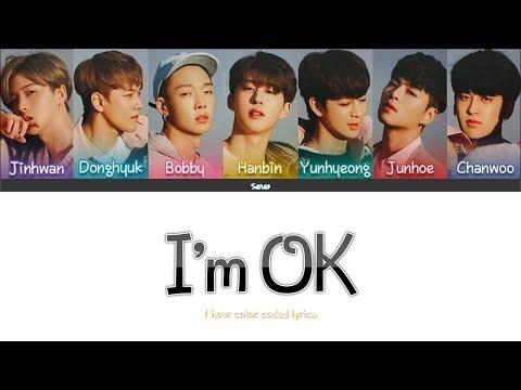 [1 Hour] IKON - I'M OK (color Coded Lyrics Han/Rom/Eng)