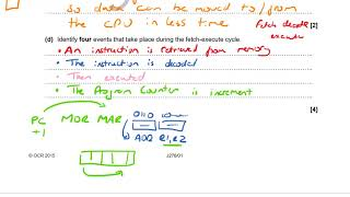OCR 9-1 GCSE Computer Science Specimen Paper 1 Walkthrough