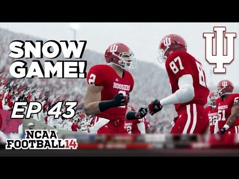 NCAA Football 14 Dynasty | Indiana Hoosiers - 2 4th quarter Comebacks! - Ep 43