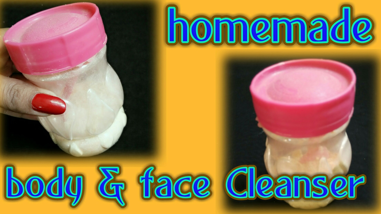 Diy homemade natural face and body cleanser for skin care get clear spotless glowing skin