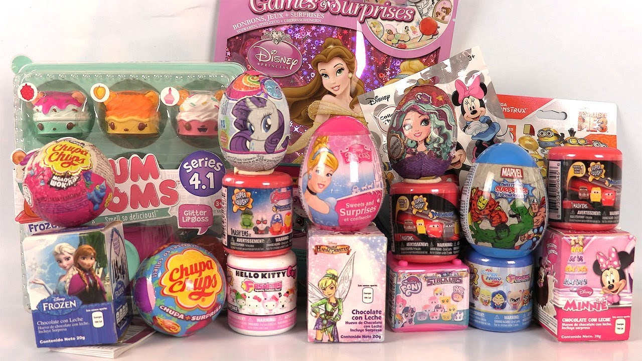Download Oeufs Surprise Eggs Mashems Sachets Surprises Disney Cars Princesses