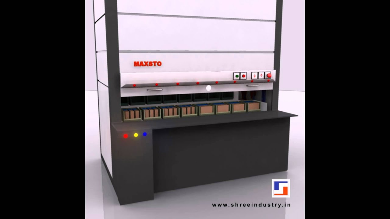 Vertical Carousel Storage Systems | Carousel Storage System | Vertical  Storage Systems   YouTube
