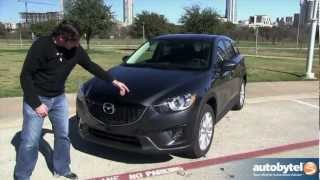 2014 Mazda CX-5 2.5 Liter SKYACTIV Test Drive & Compact Crossover Video Review