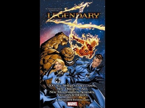 Legendary: The Fantastic Four review - Board Game Brawl