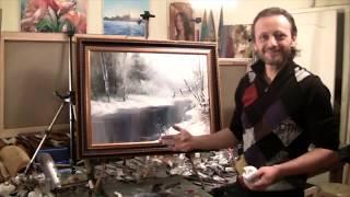 Igor Sakharov_Draw snow_Игорь Сахаров_Как рисовать снег