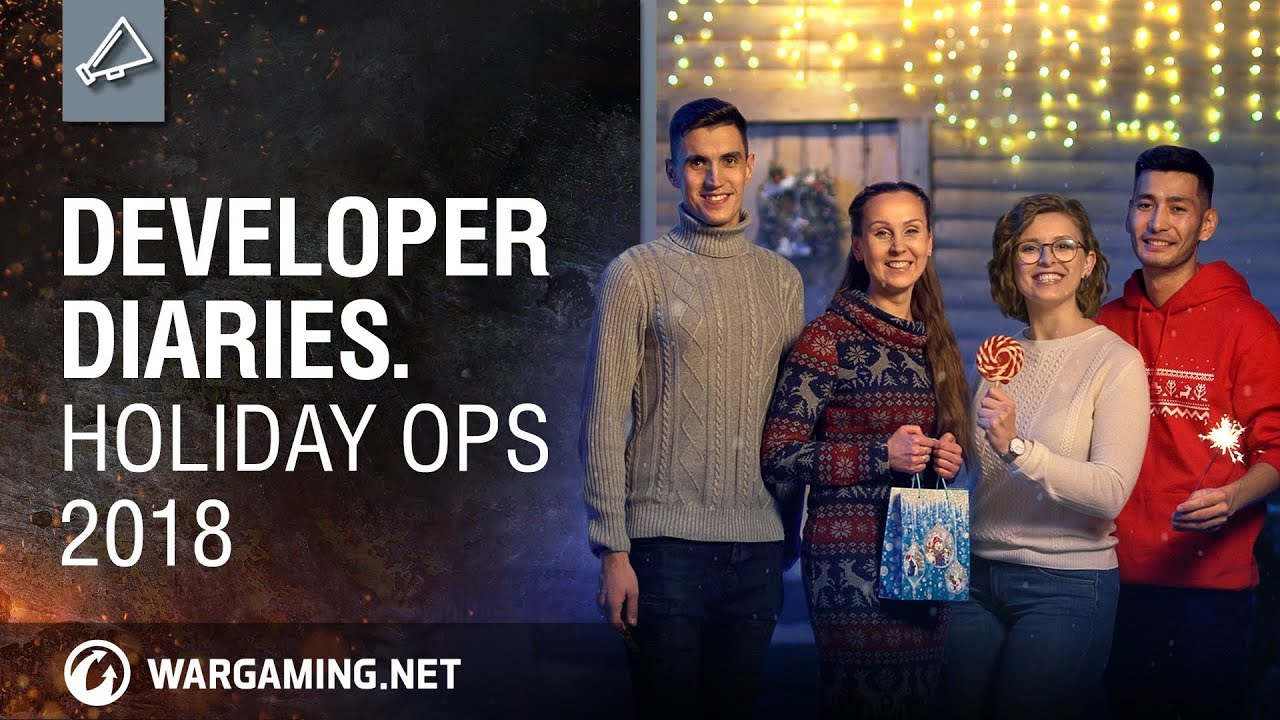 World of Tanks – Developer Diaries: Holiday Ops 2018