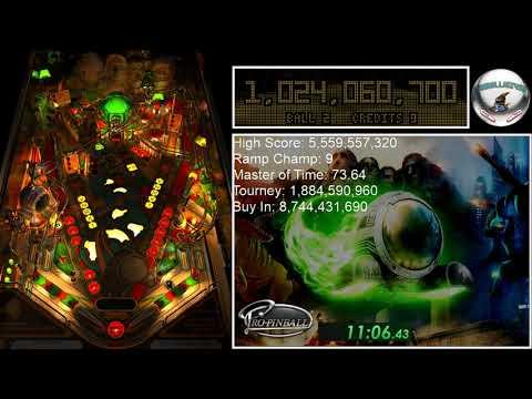 Pro Pinball: Timeshock! Speedrun - Master Of Time (No Locks) 23:25.64