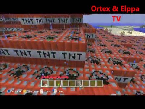 Minecraft Edition Xbox 360- Episode 9- Le test des TNT