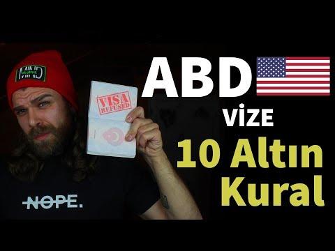 Amerika'ya Vize Alırken Bilmeniz Gereken 10 Altın Kural 🇺🇸 (+Bonus)