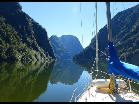 Sailing New Zealand's South Island Pt 7 of 8 - Fiordland, Breaksea, Doubtful to George