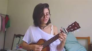 meu abrigo melim ukulele cover ariel mançanares