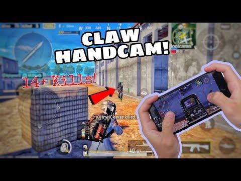 4 FINGER CLAW HANDCAM | Solo VS Squad | SANHOK [PUBG MOBILE]
