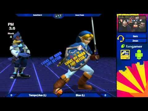 BF6 Grand Finals: Tempo Axe (Falco) vs Blue (Link)