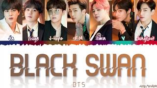 BTS (방탄소년단) - 'BLACK SWAN' Lyrics [Color Coded_Han_Rom_Eng]