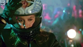 Barbara and Robin in night moto racing | Batman & Robin