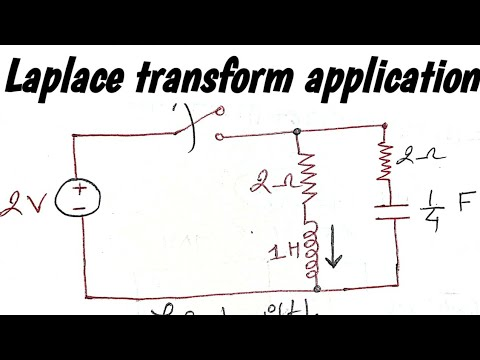 Applications of laplace transform for circuit analysis.RLC