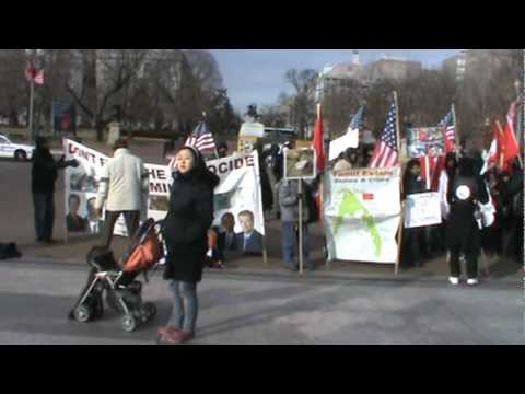 01-24-11Rally In front of the Whitehouse organized by Thamil Organizations in the USAM2U00012